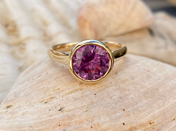 June Birthstone Mother/'s Day Alexandrite Engagement Ring 4.00ct Alexandrite Ring Alexandrite Ring Solitaire Ring