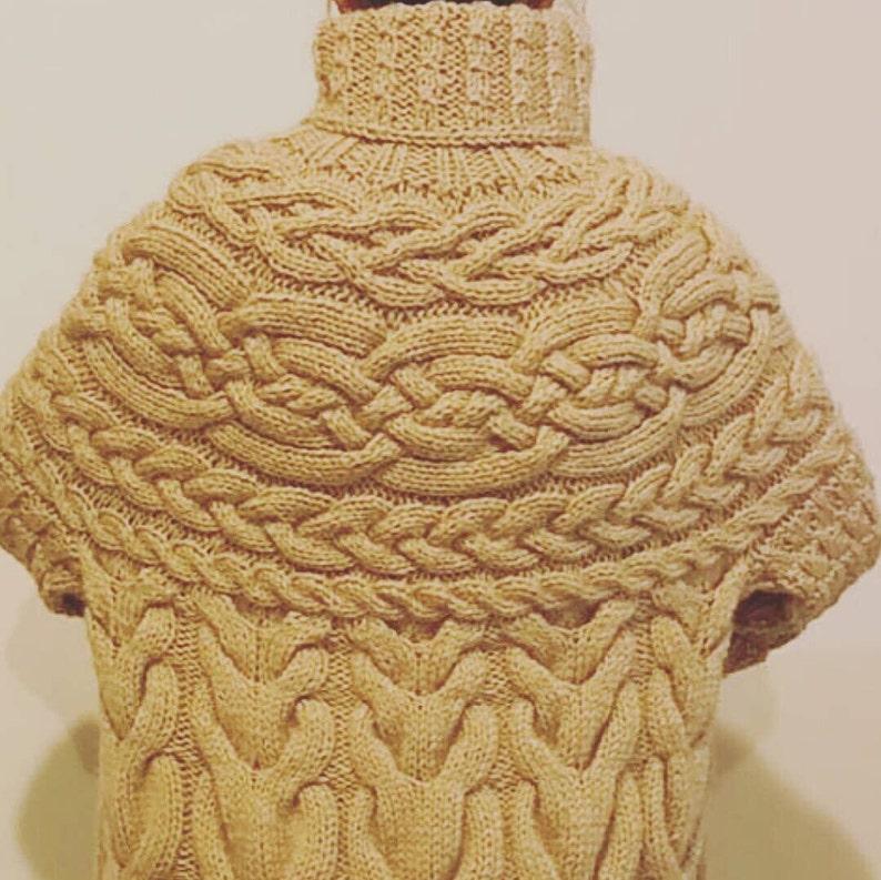 e5bba91f78f Plus Size Cardigan Chunky Cable Knit Boyfriend Coat Winter
