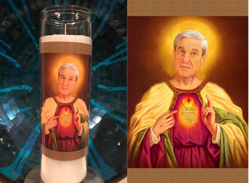 Молитвенная свеча демократа