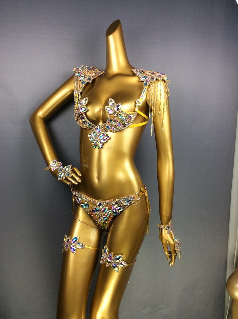 7db6f2ddbd Samba Carnival wire bra and panty Passista Pageant Cabaret