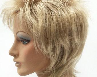 Dirty Blonde Rod Stewart Style Wig. Rocker Wig.  10-60-Rod-24  f79862ba47
