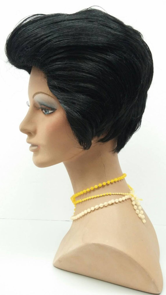 Short Black Elvis Style Costume Wig. 05-29-Elvis-1  81b4b1aa7ae7
