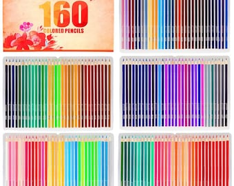 Soucolor 160 Colored Pencils Set