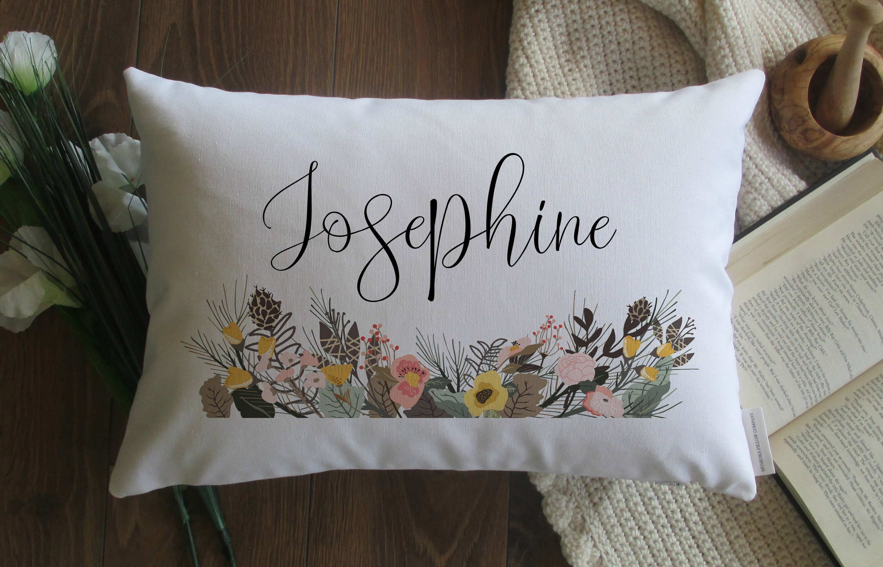Personalised Cushion Pillowcase Cover Custom Kids Children Gift Lots Of Colours