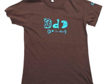 3D t-shirt - women's fitted