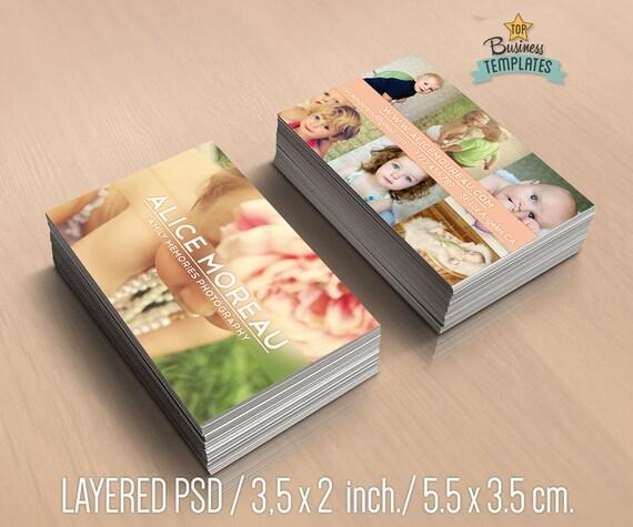 Cartes De Visite Pour Les Photographes Modle Carte Design