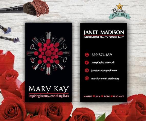 Mary kay cards printable mary kay branding beauty etsy image 0 accmission Choice Image