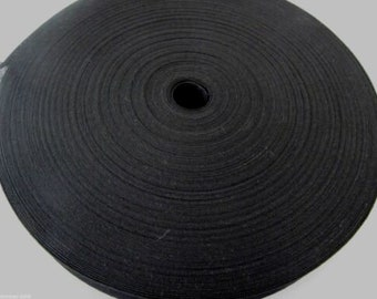Black /& White Cotton Bunting Tape 25mm wide  x 5 /& 10 metre rolls