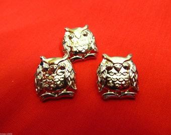 3 Buttons For £3.00 Novelty Silver /& Gold  Scissors Teddy Bear /& Owls Buttons