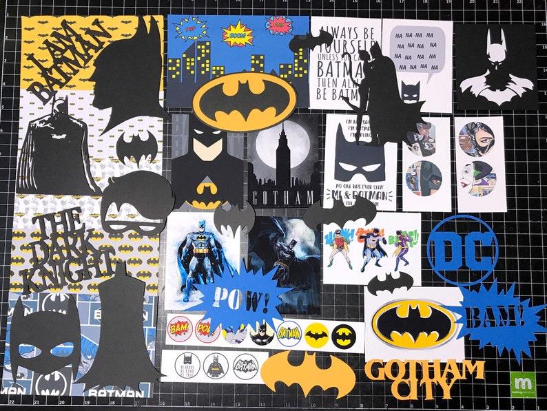 Dark Knight Penguin Planner stickers Project Life Catwoman Batman Robin BATMAN Scrapbook Kit Paper Die cuts Joker