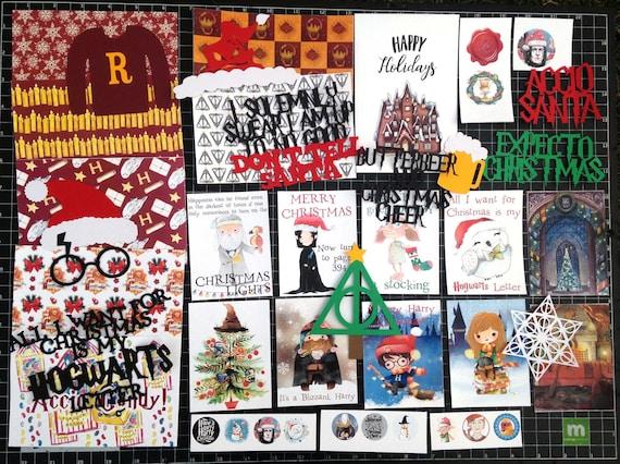 Harry Potter Scrapbook Kit Christmas At Hogwarts Scrapbook Etsy