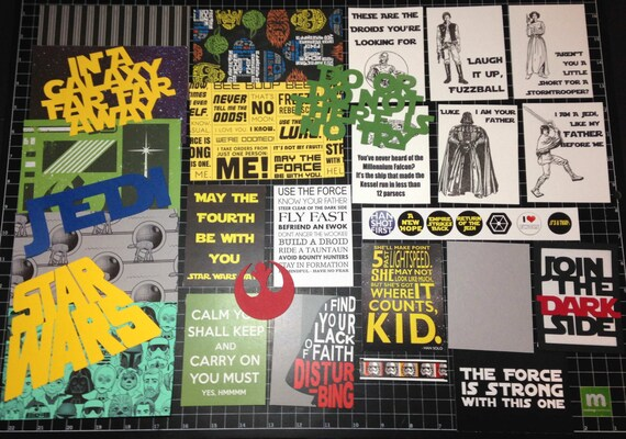Project Life Disney Villains Scrapbook Kit Disney Paper Maleficent die cuts