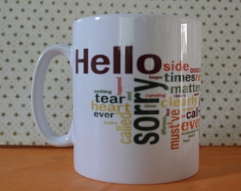 Adele Hello Tea/Coffee Mug