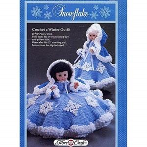 December for 13 dolls Digital Download Vintage 1992 Crochet patterns Birthstone Dolls Volume 2 July