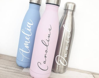 Personalized Water Bottle Etsy