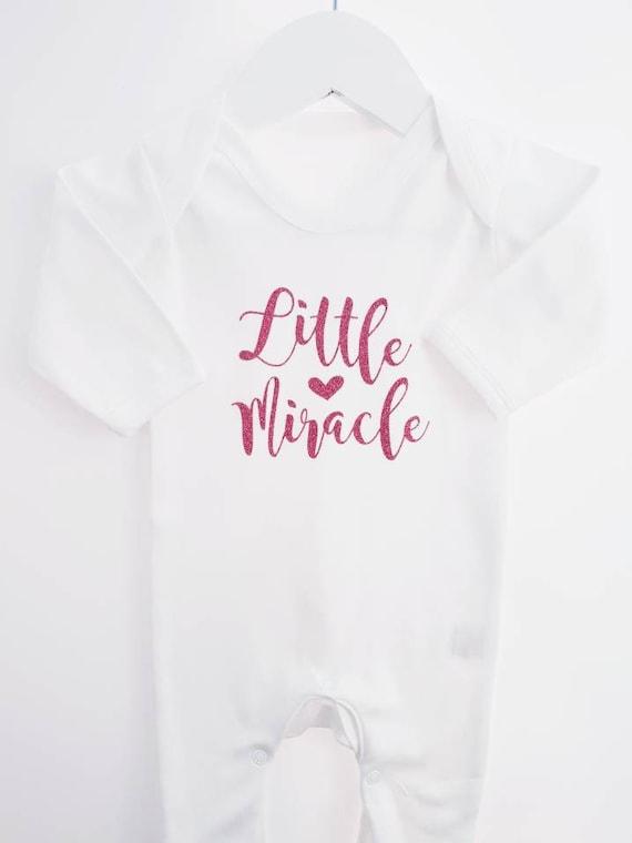 PERSONALISED Unisex baby clothing RAINBOW babygrow sleepsuit newborn gift