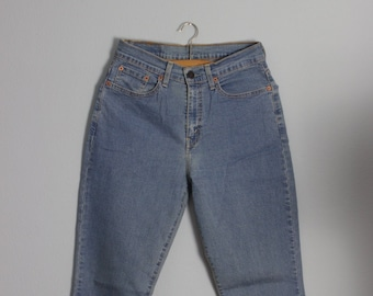 ca925461feb LEVI'S vintage jeans, high waist, Levis 584 jeans, high waist denim, boot  cut, stretch, W30 L 32