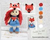 Crochet Amigurumi Fox Doll