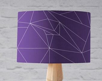 Purple lamp shade etsy purple lamp shade purple home decor violet decor modern purple trending home decor purple bedroom decor purple nursery simple lamps mozeypictures Images