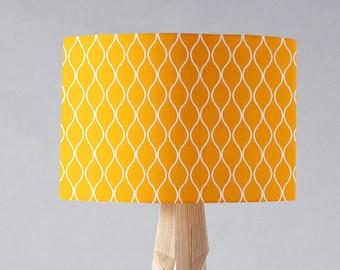 Drum lamp shade etsy yellow lamp shade yellow home decor lampshade drum lamp shade yellow nursery mustard yellow home mustard lampshade table lamp shade keyboard keysfo Images