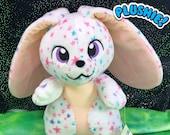 STAR BUNNY PLUSH | Flop Bunny | Rabbit Plush | Lop Bunny | Lop Rabbit | Custom Plush | Pastel Plush | Bunny Plushie | Cute Baby Bunny