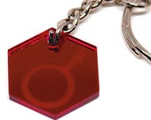 MARS KEYCHAIN | Mars Jewelry | Mars Keyring | Mars Symbol | Acrylic Keyring | Acrylic Keychain | Sailor Mars | Planet Pendant | Planet Mars