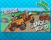 BUMPER STICKER Canol Road | Yukon Canada | Yukon Territory | Northwest Territory Sticker | NWT Decal | Robert Campbell Highway