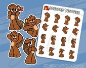 BEAVER EXCITED Planner St...