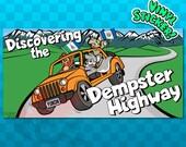 BUMPER STICKER Dempster Highway Sticker | Yukon Canada | Yukon Territory Decal | Northwest Territory Sticker | NWT Decal | Inuvik Decal |
