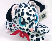DALMATIAN PUPPY PLUSH | Handmade Plush | ooak Plush | Dog Plush | Dalmatian Plush | Dalmatian Plush | Spotted Puppy Plush | Beanie Plushie