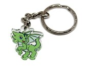 ASPEN THE DRAGON Keychain...