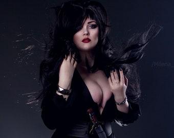 Ready to ship - Cosplay wig - Elvira: Mistress of the Dark