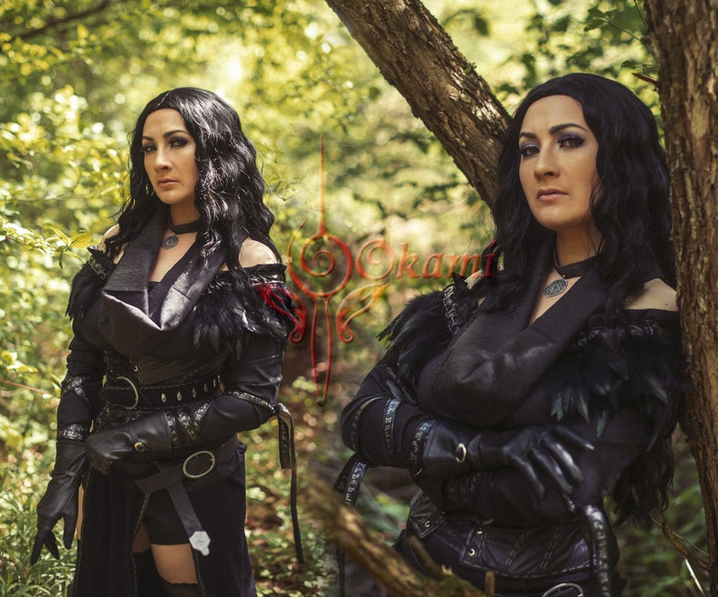 Custom made - Yennefer - The Witcher 3 Wild Hunt Alternative Look - Cosplay  boots Yennefer