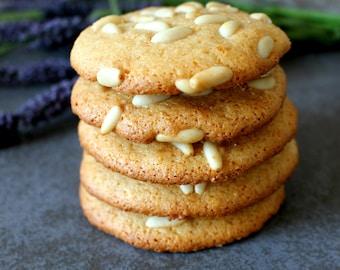 Pignoli Cookies, handmade, Orgnanic Pine Nuts, 12 or 24 pcs