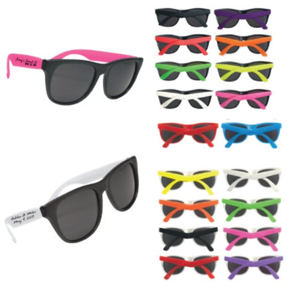 787779dda27 180 TWO SIDED Imprinted Personalized Sunglasses Custom