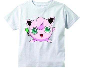 849ae104 Pokemon JigglyPuff white t-shirt