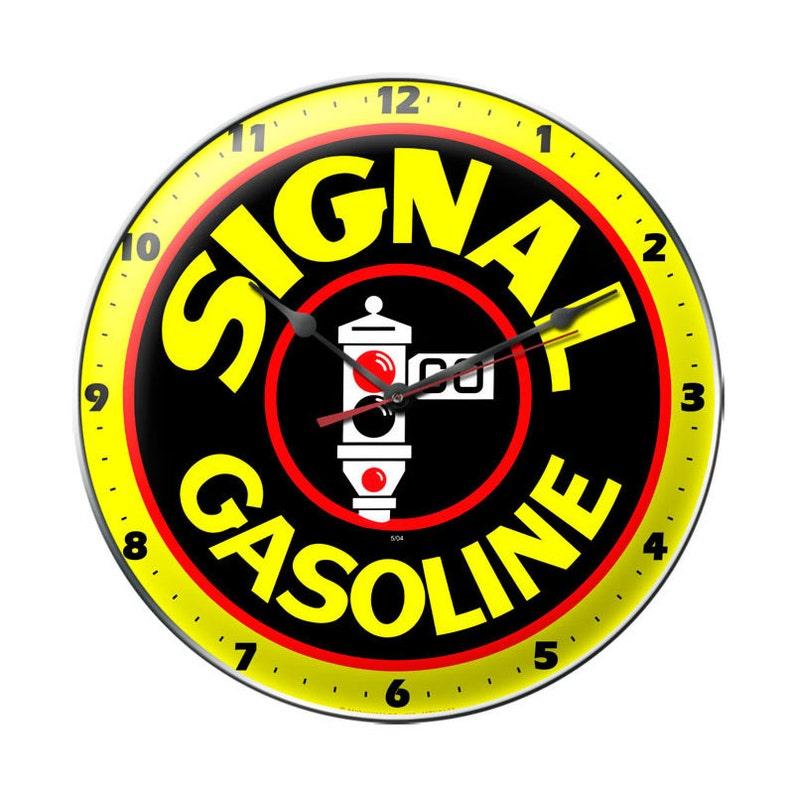VINTAGE STYLE METAL SIGN American Gasoline 14 x 14