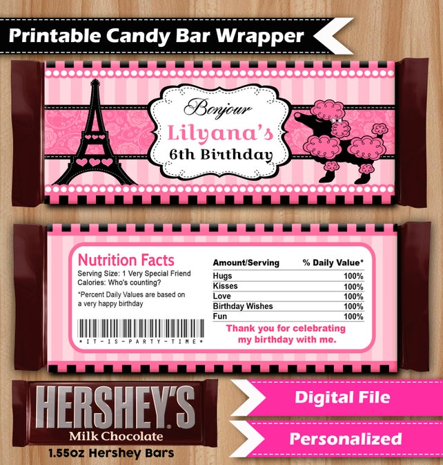 Poddle Paris Printable Party Kit Paris Party Package Paris Themed