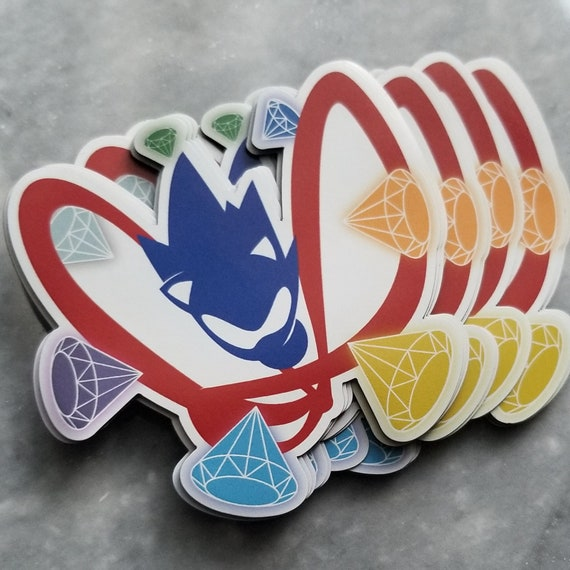 Sonic The Hedgehog Magnets Video Game Decor Sega Art Etsy