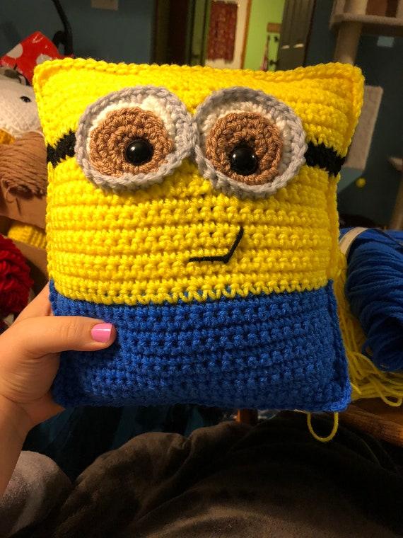 Minion Pillow Crochet Pattern
