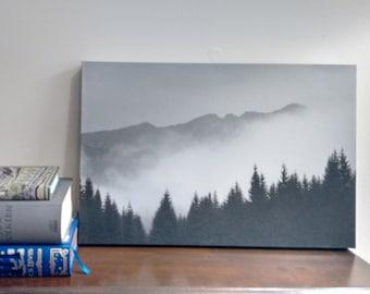 Misty Mountains Wall Art Canvas 12x18
