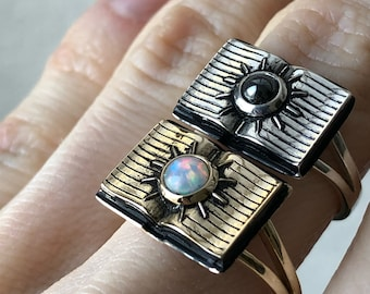 The Open Book - Ring No. 2 - The Mind's Eye Collection