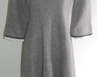 Vintage 1960's Winter Wool Dress