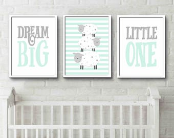 gray nursery etsy