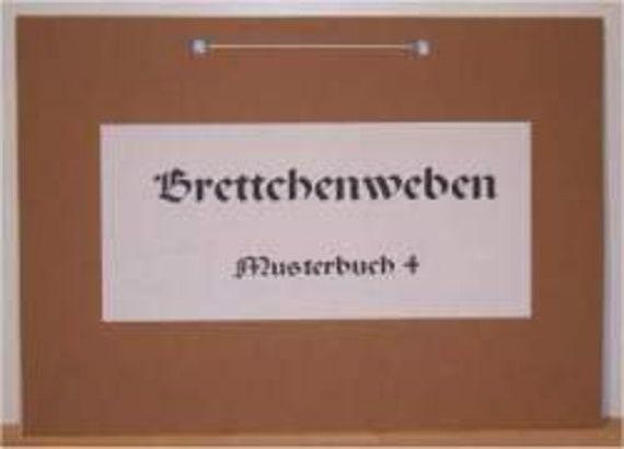 Musterbuch 4 brettchenweben etsy