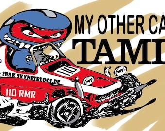 Tamiya fan sticker