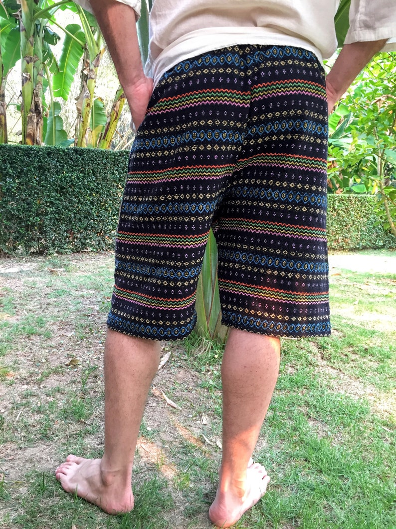 Hippie  Shorts  Festival Shorts   Mens Bohemian Shorts  Mens Shorts  colorful Shorts  Mens Hippie Shorts  Hippie Shorts