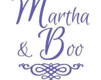 Martha And Boo