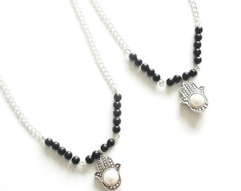 Pearl of protection necklace