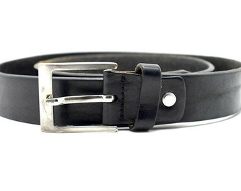 Sun Witch Waist Belt Black Vintage Leather Belt 100